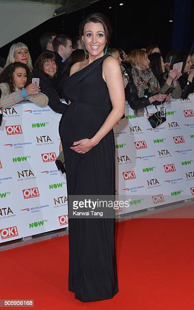 Suranne Jones attends the 21st National Television Awards at The O2 Arena on January 20 2016 in London England
