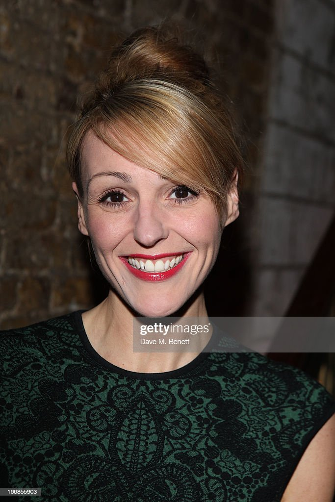 Suranne Jones attends the 'Beautiful Thing' press night after party at Salvador and Amanda on April 17, 2013 in London, England.