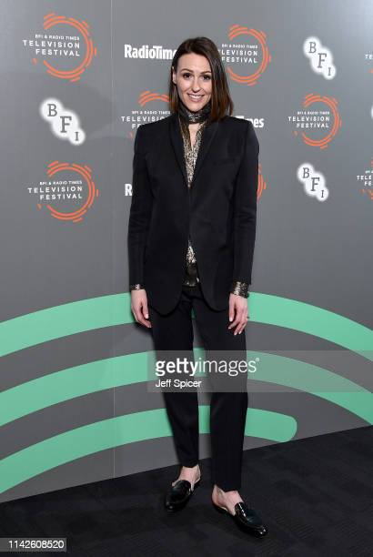 Suranne Jones attends the Gentleman Jack photocall and QA during the BFI Radio Times Television Festival 2019 at BFI Southbank on April 14 2019 in...