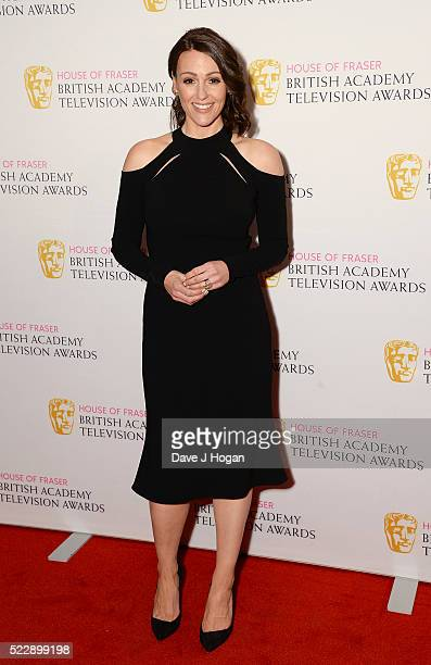 Suranne Jones attends the House of Fraser British Academy Television and Craft Nominees Party at The Mondrian Hotel on April 21 2016 in London England