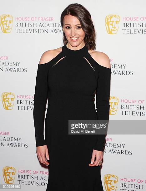 Suranne Jones attends the House of Fraser British Academy Television and Craft nominees party at Mondrian London on April 21 2016 in London England