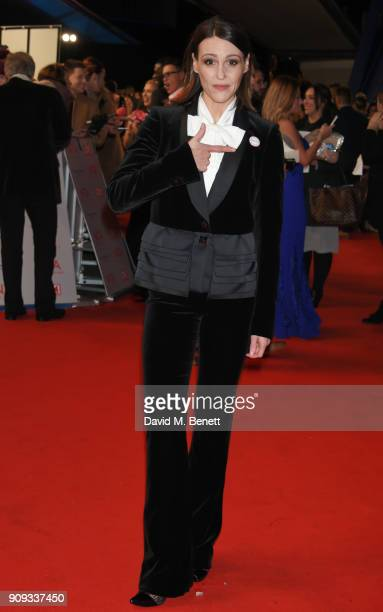 Suranne Jones attends the National Television Awards 2018 at The O2 Arena on January 23 2018 in London England