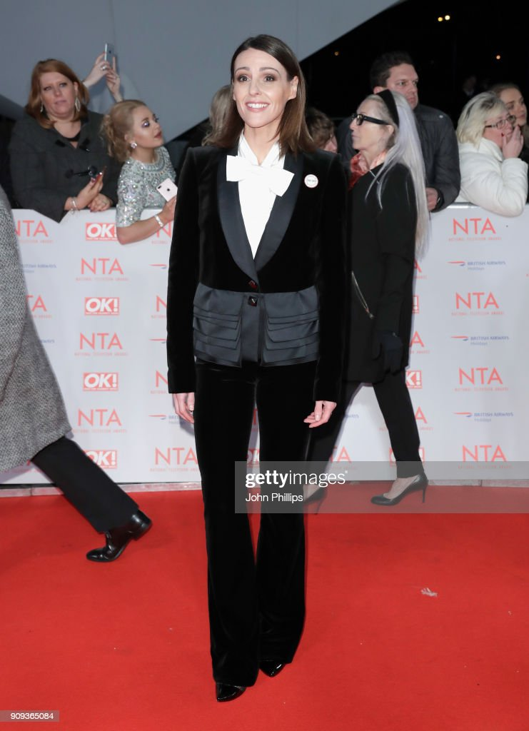 Suranne Jones attends the National Television Awards 2018 at the O2 Arena on January 23, 2018 in London, England.