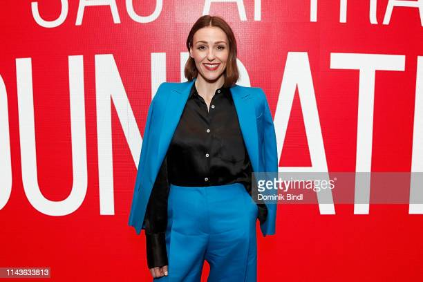 Suranne Jones attends the SAGAFTRA Foundation Conversations 'Gentleman Jack' at The Robin Williams Center on April 18 2019 in New York City