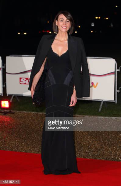 Suranne Jones attends The Sun Military Awards at National Maritime Museum on December 11 2013 in London England