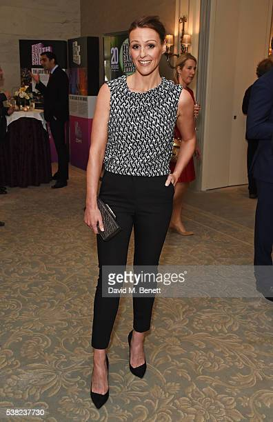 Suranne Jones attends the The South Bank Sky Arts Awards airing on Wednesday 8th June on Sky Arts at The Savoy Hotel on June 5 2016 in London England