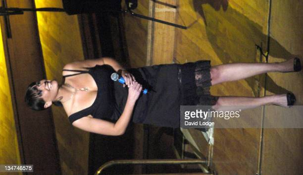 Suranne Jones during 2004 BBC Children In Need Gala at Royal Festival Hall in London Great Britain