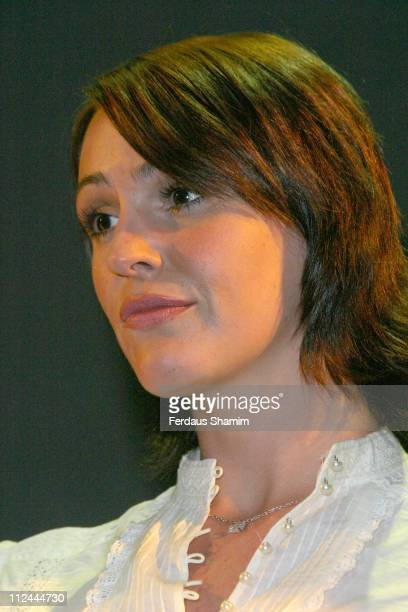 Suranne Jones during 'A Few Good Men' London Photocall at Theatre Royal London in London Great Britain