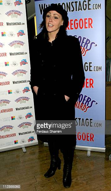 Suranne Jones during Theatregoers' Choice Awards 2006 at Planet Hollywood in London Great Britain