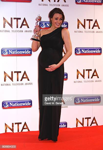 Suranne Jones winner of Best Drama Performance attends the 21st National Television Awards at The O2 Arena on January 20 2016 in London England