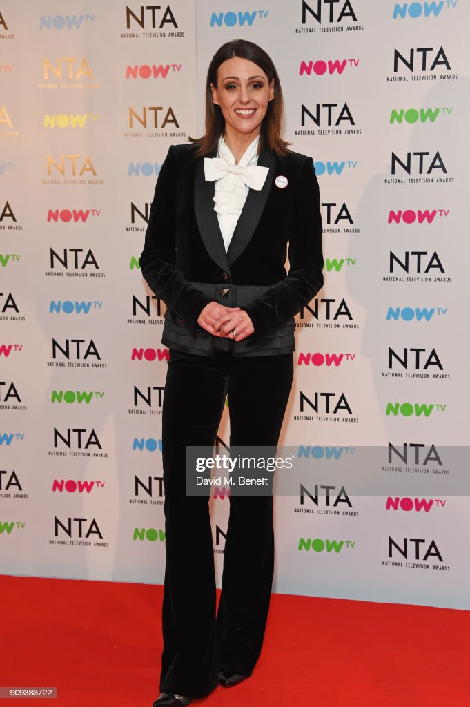 Suranne Jones, winner of the Best Drama Performance award for 'Doctor Foster, poses in the press room at the National Television Awards 2018 at The O2 Arena on January 23, 2018 in London, England.