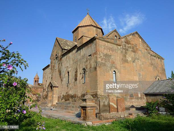 surb gayane church in echmiadzin, armenia - frans sellies stockfoto's en -beelden