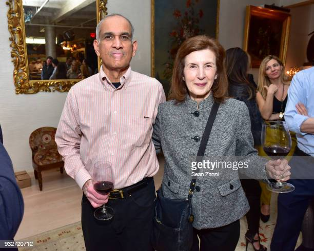 Suresh Babu and Susan Babu attend 'The Initiation' Book Launch at Bouley TK on March 15 2018 in New York City