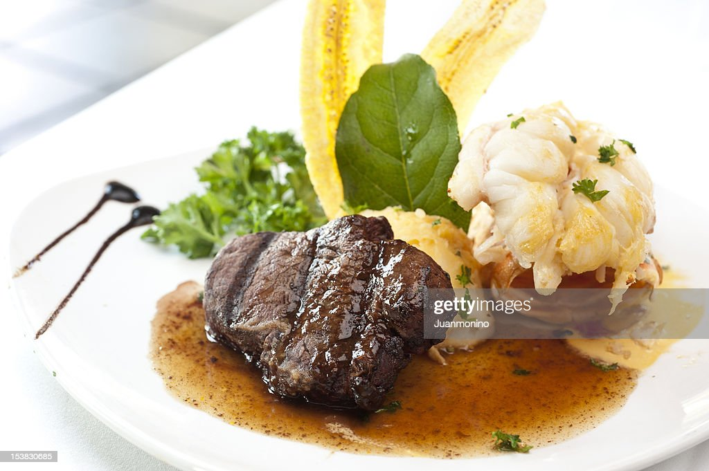 Surf and Turf : Stock Photo