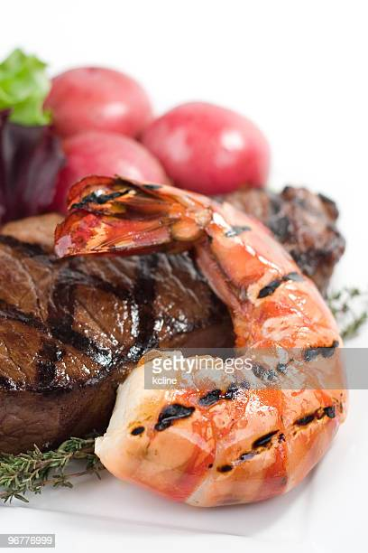 surf and turf - red lobster restaurant stock pictures, royalty-free photos & images