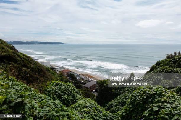A surf day in Kamakura in Japan