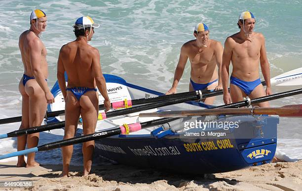 Surf lifesavers from all corners of Australia in competition on March 24 2007 in Perth Western Australia Held every year and attracting participants...
