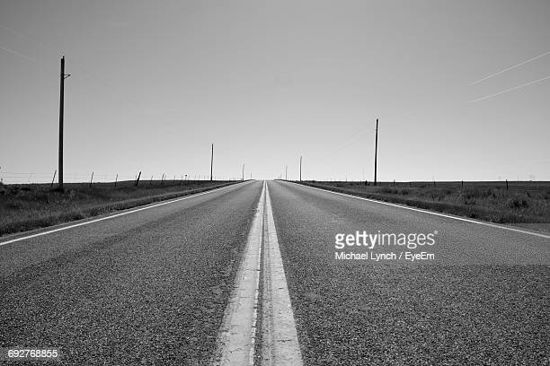 Surface Level Of Empty Road