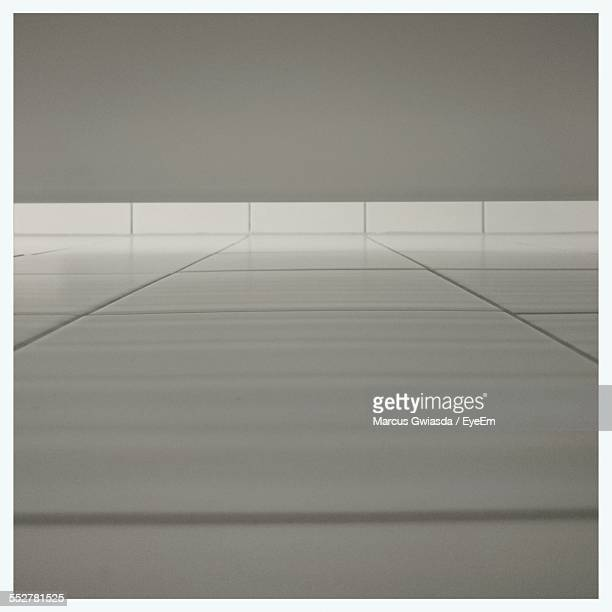 Surface Level Of Tiled Floor