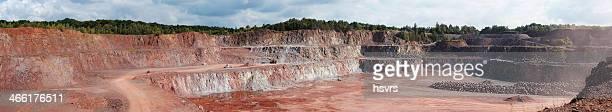 Flächenabbau quarry