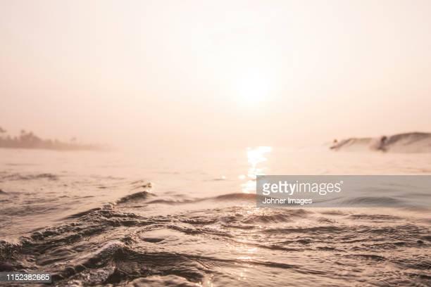 surface of sea - sepiakleurig stockfoto's en -beelden