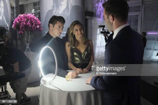 THE ARRANGEMENT 'Surface Tension' Episode 202 Pictured Josh Henderson as Kyle West Christine Evangelista as Megan Morrison Andy Favreau as Logan...