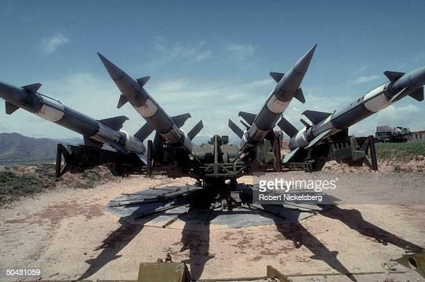 Surfacetoair missile site above Kabul taken by govt allied Dostamled Uzbek militia battling dissident mujahedin of Hekmatyar's HezbiIslami