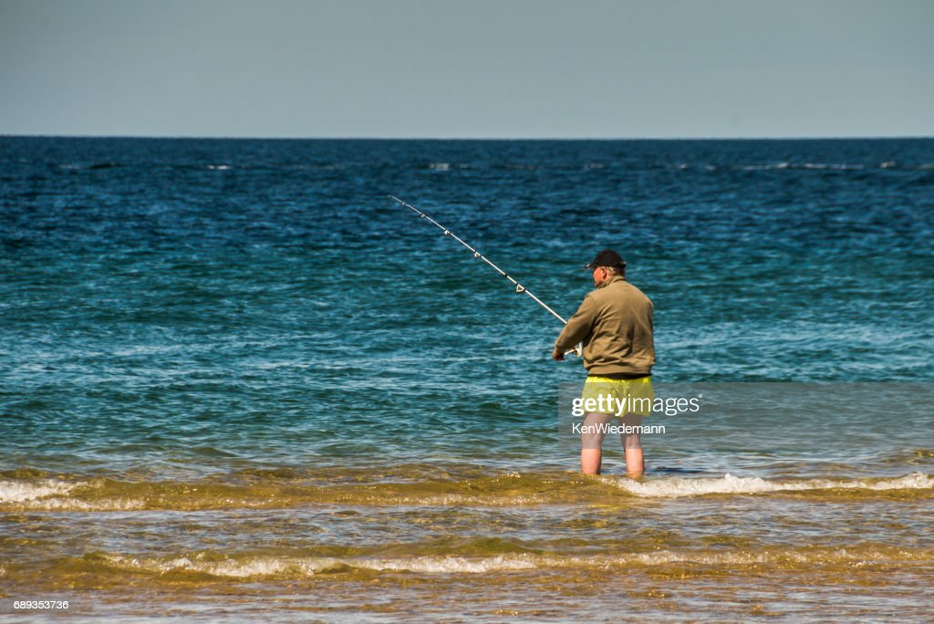 Surfcasting Race Point : Stock Photo