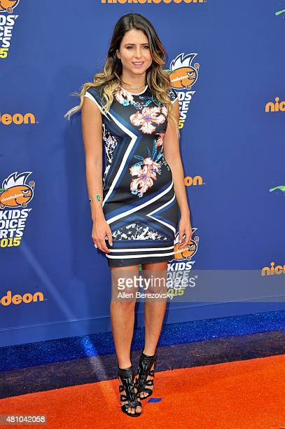 Surfer Anastasia Ashley attends the Nickelodeon Kids' Choice Sports Awards 2015 at UCLA's Pauley Pavilion on July 16 2015 in Westwood California