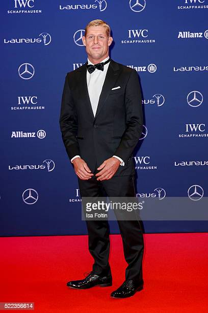 Surfer and Laureus World Comeback of the Year Award Nominee Mick Fanning attends the Laureus World Sports Awards 2016 on April 18 2016 in Berlin...