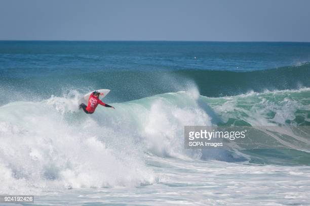 Surfer Anthony Walsh USA seen at the Capítulo Perfeito event An event that brings together some of the best free surfers in the country and the world...