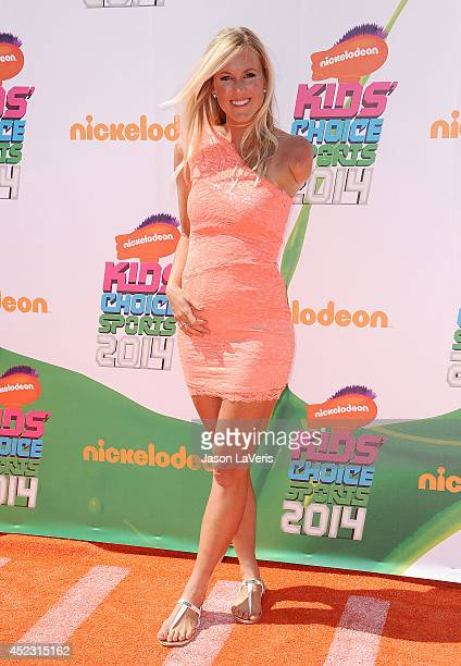 Surfer Bethany Hamilton attends the 2014 Nickelodeon Kids' Choice Sports Awards at Pauley Pavilion on July 17 2014 in Los Angeles California
