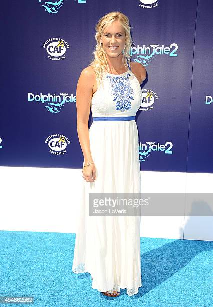 Surfer Bethany Hamilton attends the premiere of 'Dolphin Tale 2' at Regency Village Theatre on September 7 2014 in Westwood California