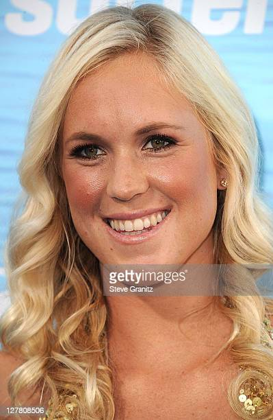 Surfer Bethany Hamilton attends the Soul Surfer Los Angeles Premiere at ArcLight Cinemas on March 30 2011 in Hollywood California