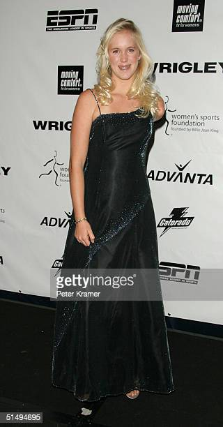 Surfer Bethany Hamilton attends the Women's Sports Foundation 25th annual salute to women in sports awards dinner on October 18 2004 in New York City