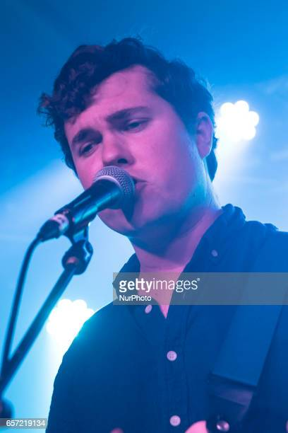 Surfer Blood perform live on stage at Oslo Hackney in London on March 23 2017 They are an American indie rock band from West Palm Beach Florida...