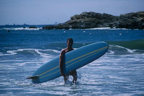 Rhode Island Surfer Wall Art