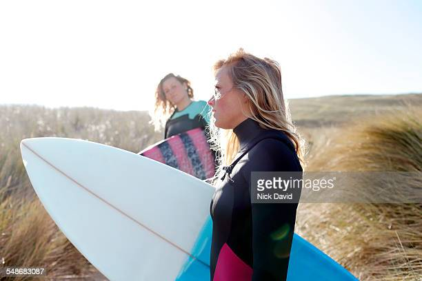 Surfer friends