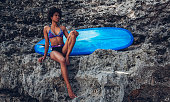 http://www.istockphoto.com/photo/surfer-girl-sitting-next-to-blue-longboard-on-the-coral-reef-gm818877278-132954069