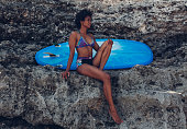 http://www.istockphoto.com/photo/surfer-girl-sitting-next-to-blue-longboard-on-the-coral-reef-gm818879146-132954071