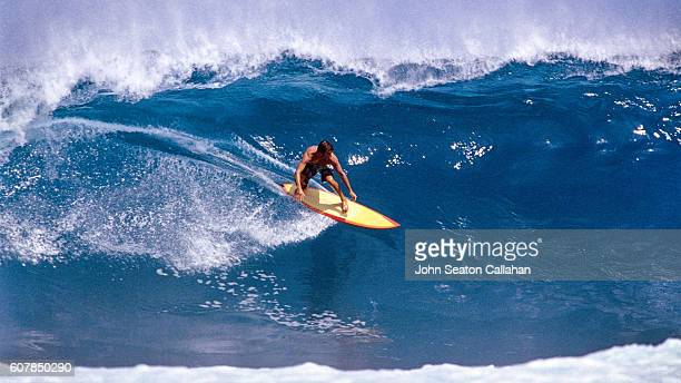 Surfer in the Hinako Islands
