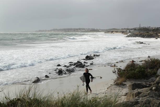 AUS: Storms Lash Perth As Ex-Tropical Cyclone Mangga Moves Across Western Australia