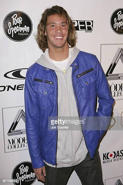 563e787d6330 Surfer Jordy Smith arrives at  Modern Collective  Los Angeles Premiere at  Les Deux on