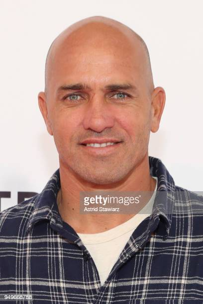 Surfer Kelly Slater attends a screening for Momentum Generation during te 2018 Tribeca Film Festival at SVA Theatre on April 21 2018 in New York City