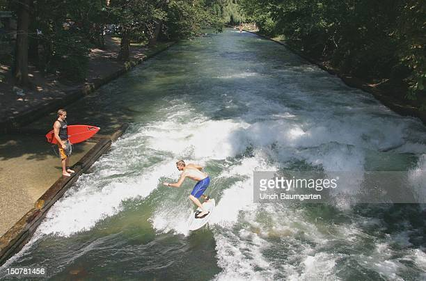 Surfer on the Eisbach