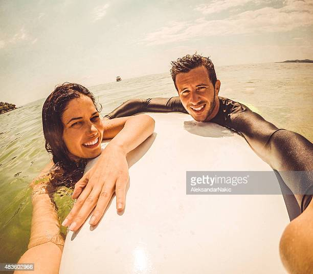 Surfer selfie