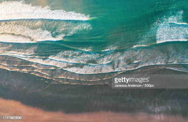 surfer solitude - janessa stock pictures, royalty-free photos & images