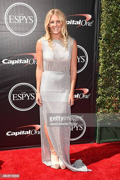 Surfer Stephanie Gilmore attends The 2015 ESPYS at Microsoft Theater on July 15 2015 in Los Angeles California
