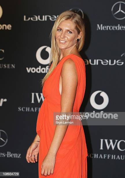 Surfer Stephanie Gilmore of Australia attends the 2011 Laureus World Sports Awards at the Emirates Palace on February 7 2011 in Abu Dhabi United Arab...