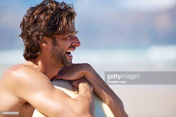 Um surfista de antecipação
